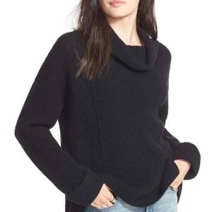 Free People M/L SIDEWINDER 100% Wool Chunky Sweate